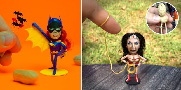 Batgirl & Wonder Woman!