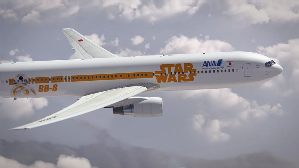 ANA Star Wars Jet