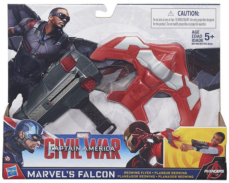 Civil War Falcon's Redwing Flyer